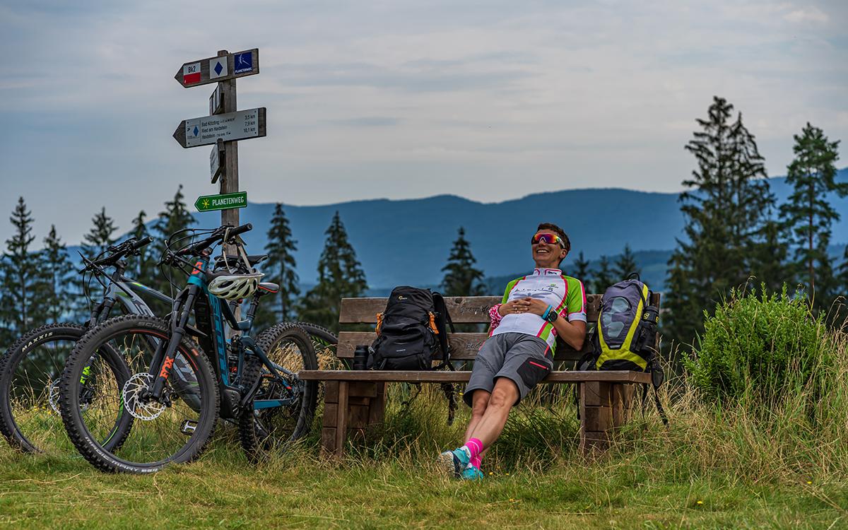 Radfahren Bodenmais Wellnesshotel Bayerischer Wald