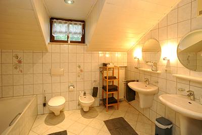Badezimmer Wellnesshotel Bayerischer Wald