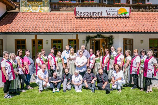 Mitarbeiter Wellnesshotel Bayerischer Wald
