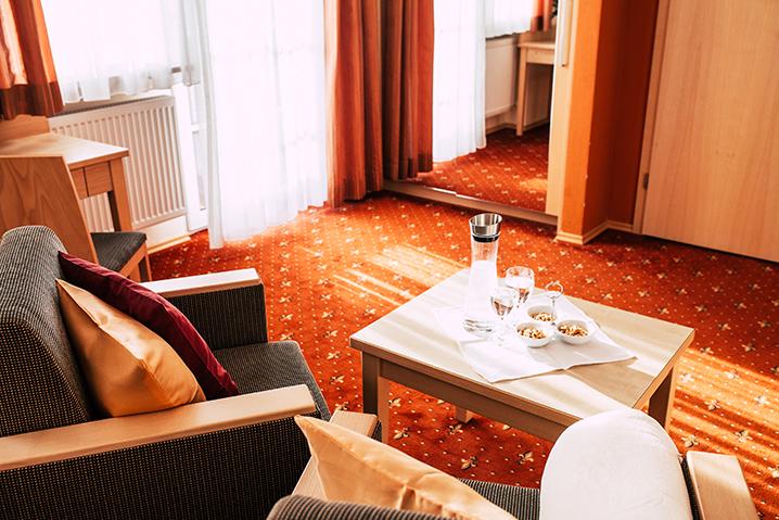Doppelzimmer Riedelstein Wellnesshotel Bayerischer Wald