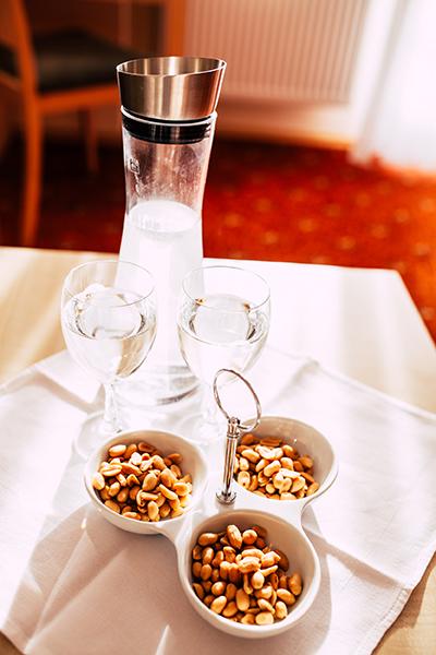 Snacks im Zimmer Wellnesshotel Bayerischer Wald