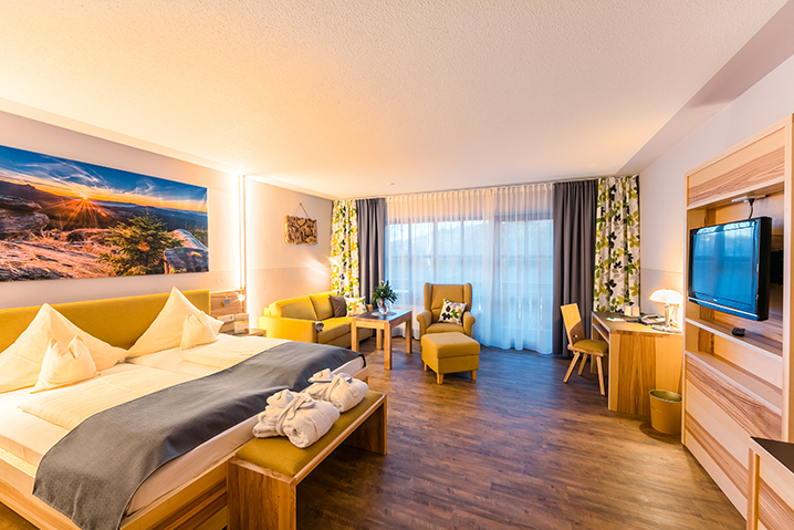 Suite Großer Arber Wellnesshotel Bayerischer Wald
