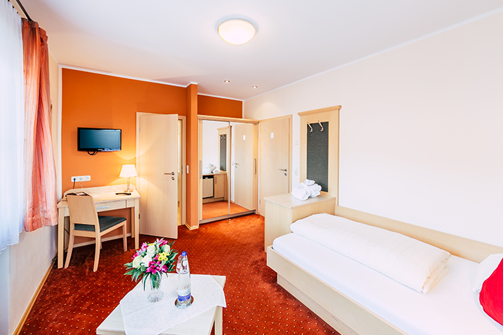 Einzelzimmer Kaitersberg Wellnesshotel Bayerischer Wald