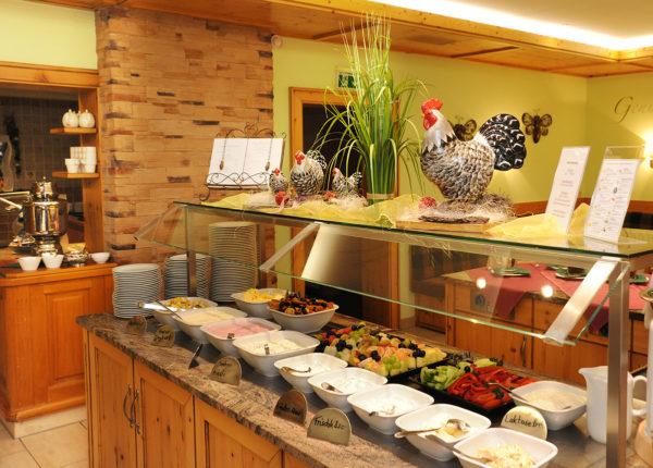 Frühstücksbuffett Wellnesshotel Bayerischer Wald