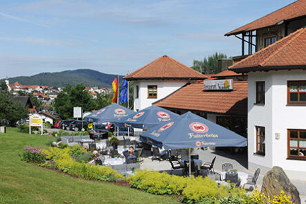 Sonnenterrasse 2 Wellnesshotel Bayerischer Wald